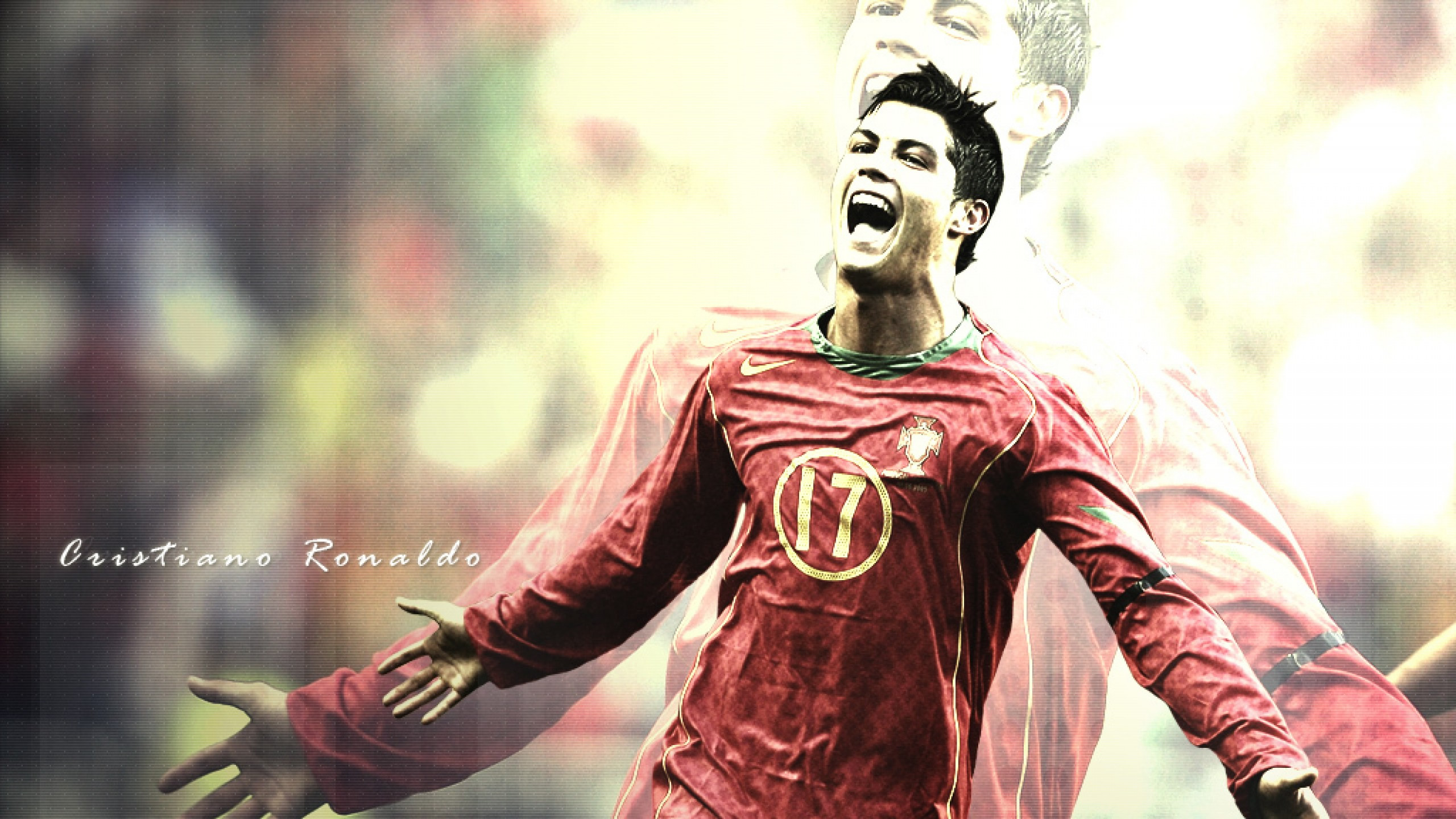 Cristiano Ronaldo running wallpaper (3)