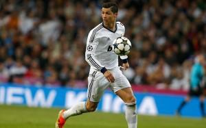 Cristiano Ronaldo running wallpaper