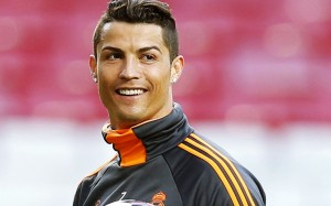 Cristiano Ronaldo smiling wallpaper