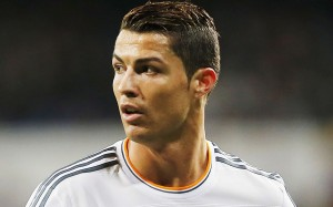 Cristiano Ronaldo sweaty head wallpaper