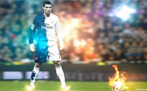 Cristiano Ronaldo wallpaper by Hshamsi