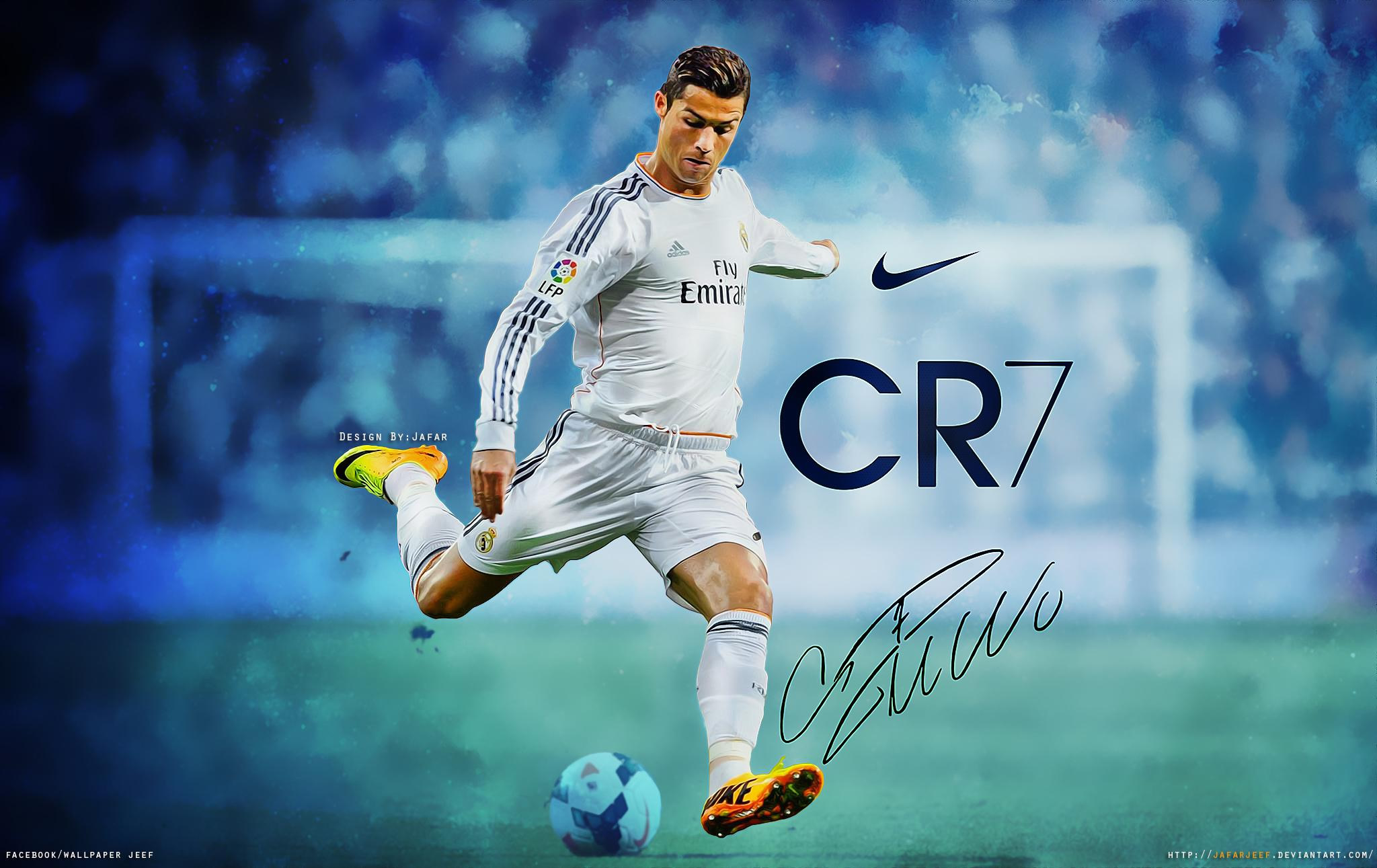 Cristiano Ronaldo Wallpaper By Jafarjeef