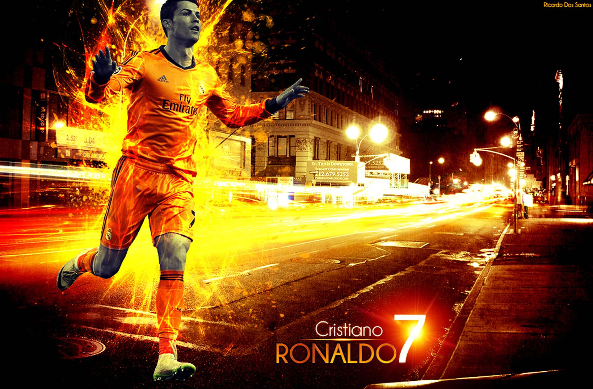 Cristiano Ronaldo wallpaper by Ricardo Dos Santos