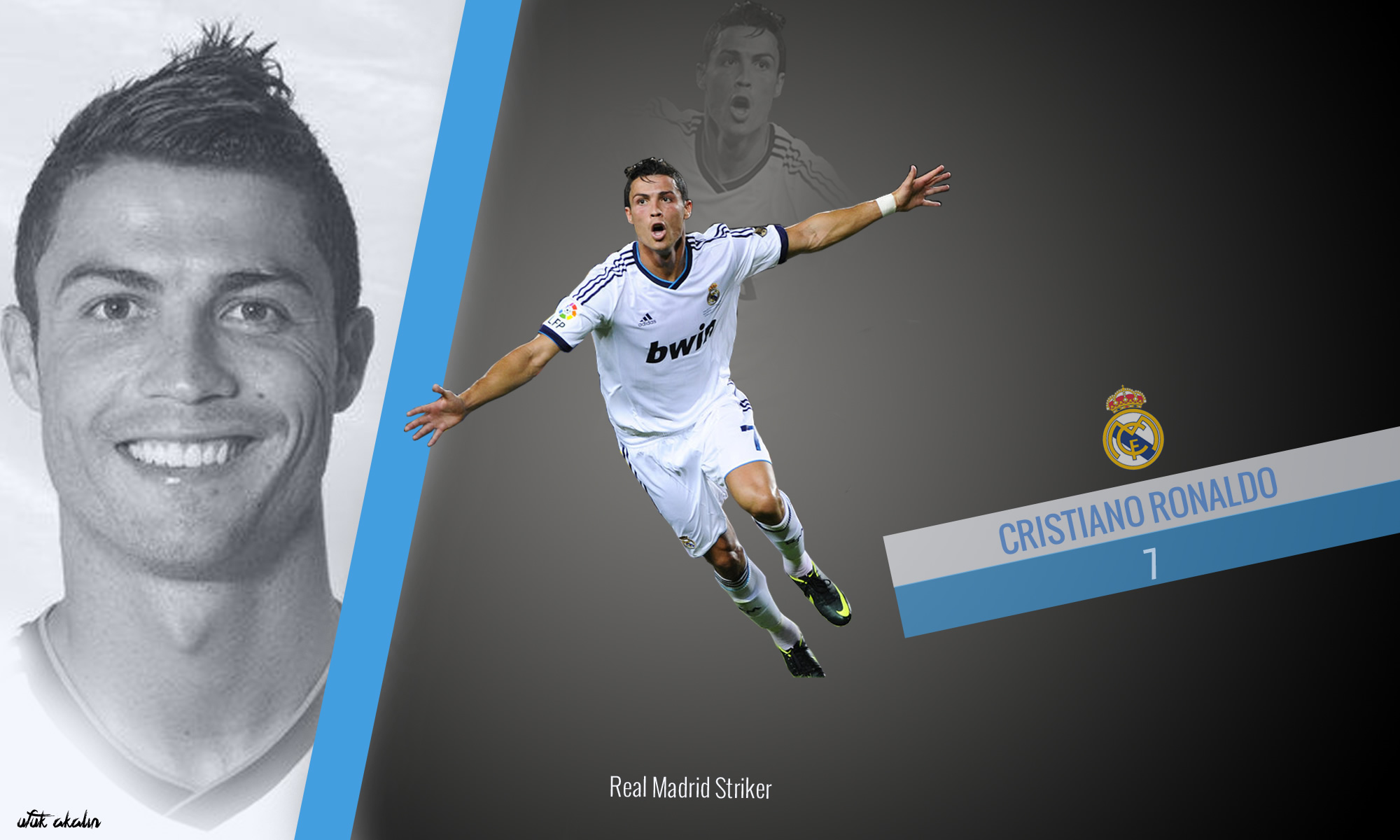 Cristiano Ronaldo wallpaper by Ufuuk