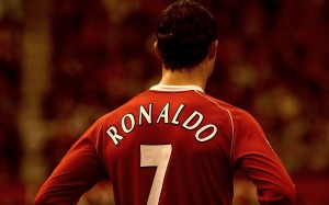 Ronaldo 7 back wallpaper
