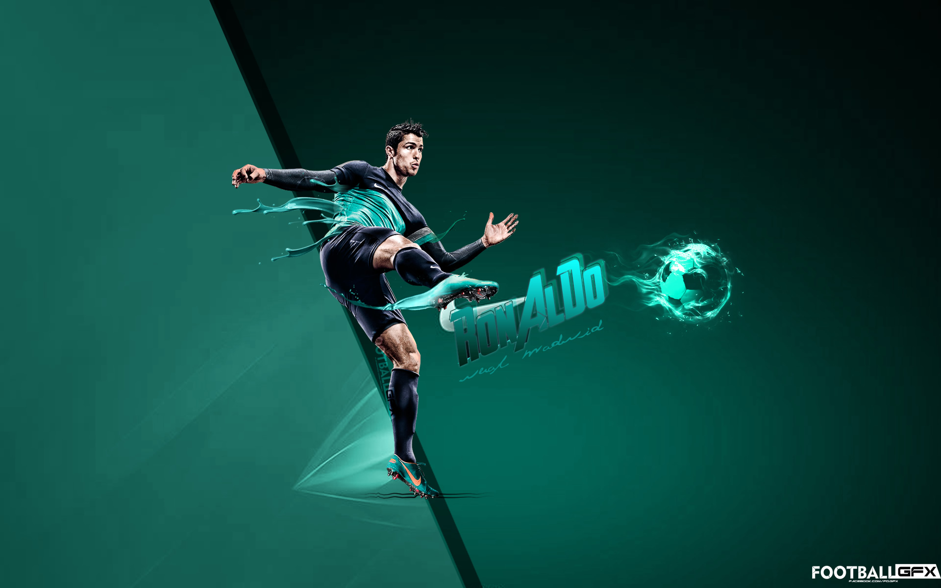 Ronaldo by Nisizenuni wallpaper