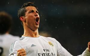 Ronaldo celebratory scream wallpaper