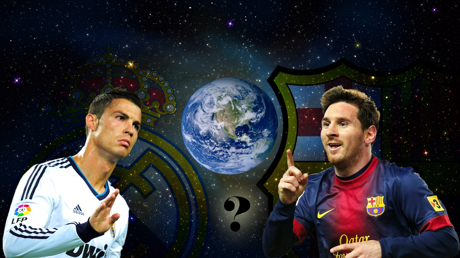 Ronaldo vs Messi wallpaper - Cristiano Ronaldo Wallpapers