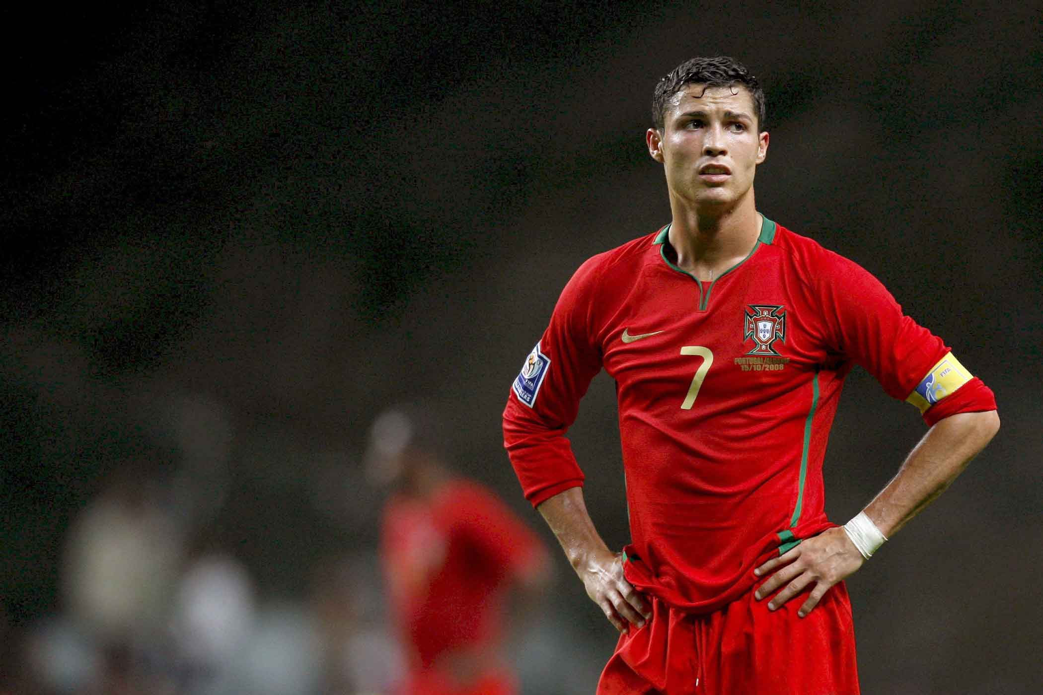 Image result for sad cristiano ronaldo